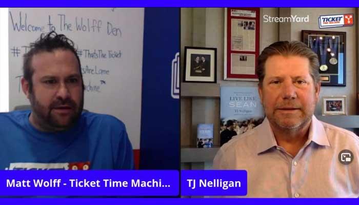 Matt Wolff interviews author TJ Nelligan