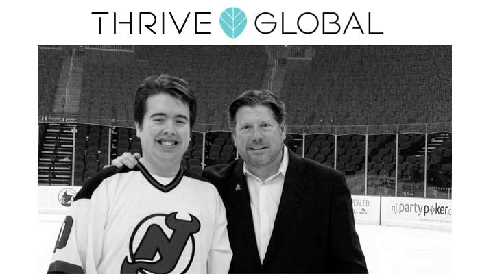 Thrive Global Article by TJ Nelligan