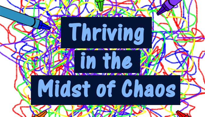 Thriving in the midst of chaos interview with TJ Nelligan