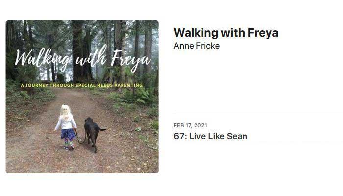 Walking with Freya Podcast with TJ Nelligan