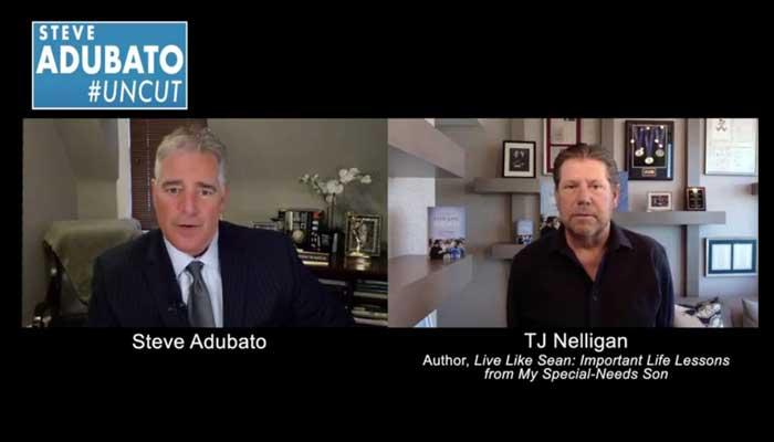 TJ Nelligan is interviewed by Steve Adubato